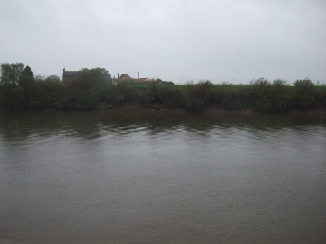 Looking across the River Trent