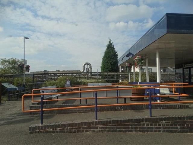 At Burton-on-Trent Railway Station