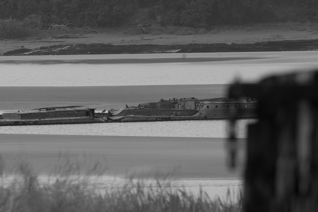 The Harker barges from Purton Ships' Graveyard