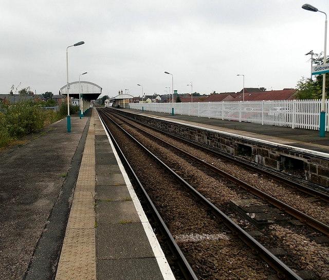 Gobowen railway station