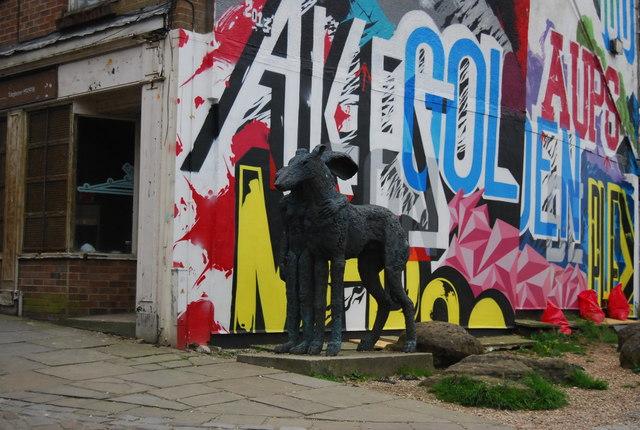 Sculpture, Old High St