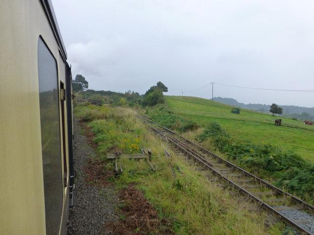 Railway sidings near Bewdley on the SVR