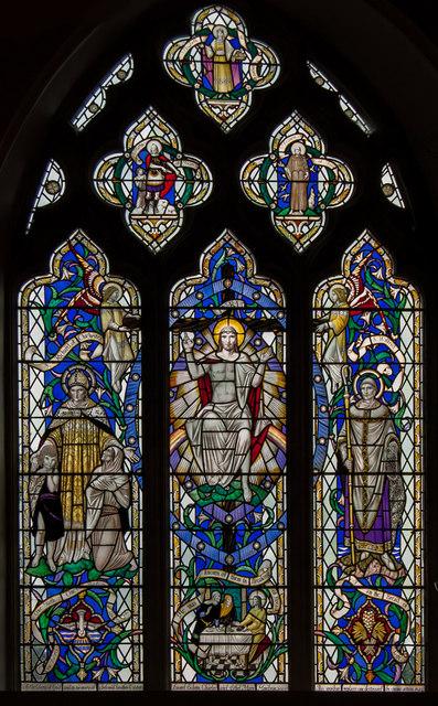 East Window, St Mary's church, Willingdon