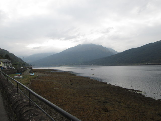 Loch Long on an overcast day