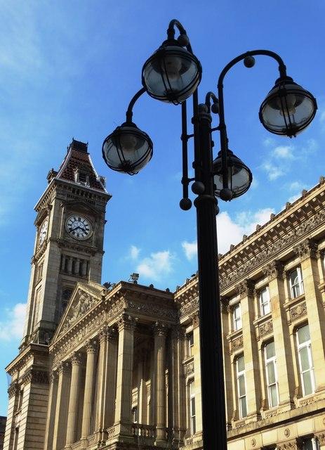 Approaching Chamberlain Square, Birmingham