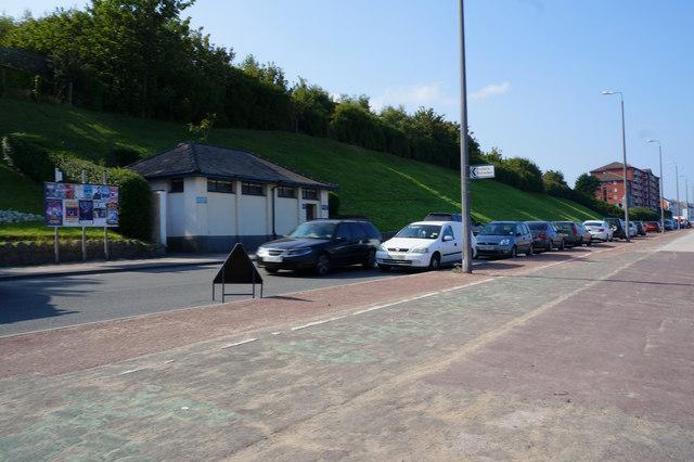 Public toilets at Colwyn Bay