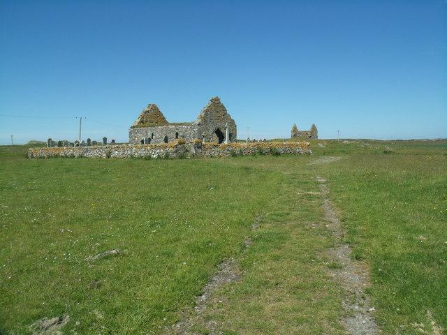 Old parish church, Kirkapol