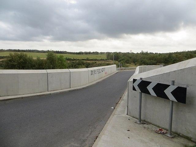 New railway bridge, Tamfourhill
