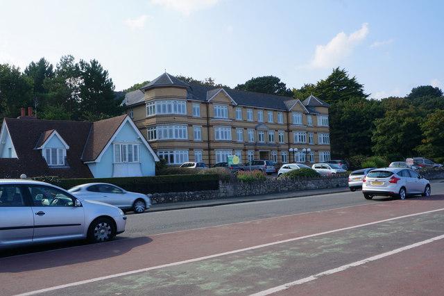 Flats on West Promenade, Colwyn Bay