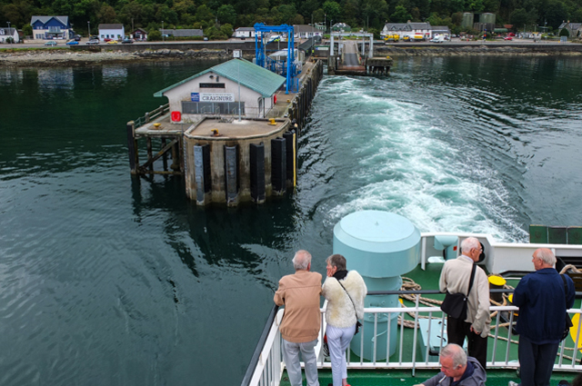 Leaving Craignure Pier
