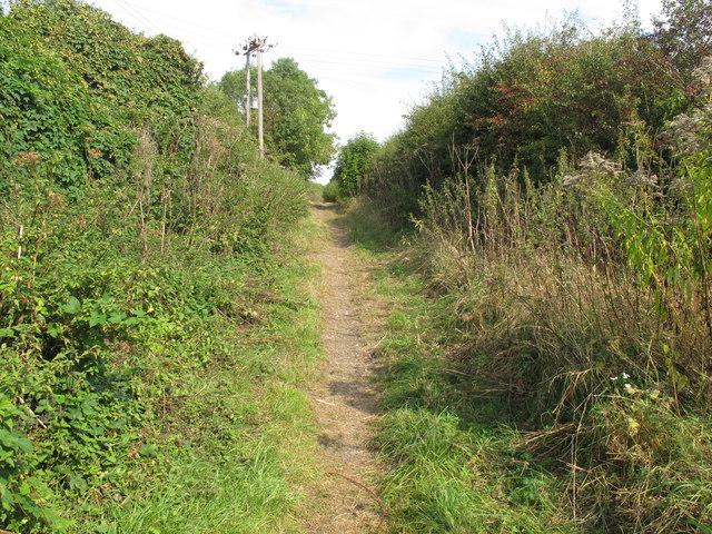 Bridleway from Scotsgrove Mill to Haddenham