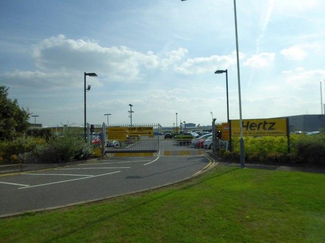 Hertz car rental at Heathrow Airport