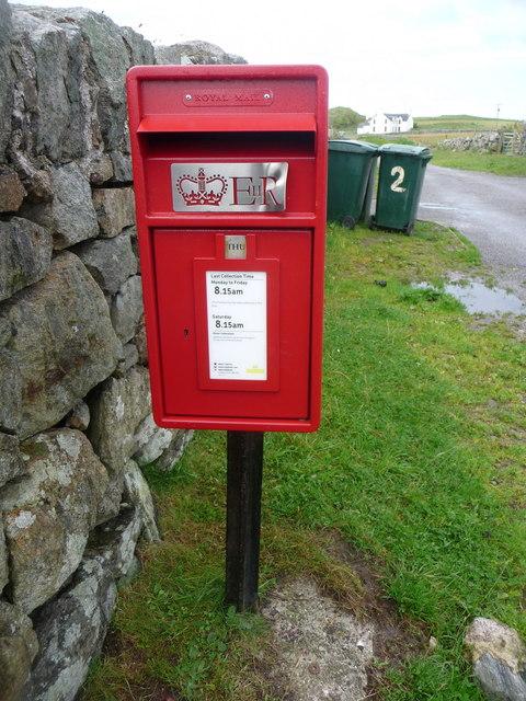 Hynish: postbox № PA77 171