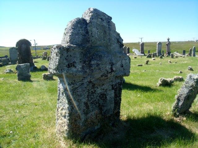 Maclean's Cross, Cladh Sorobaidh, Tiree
