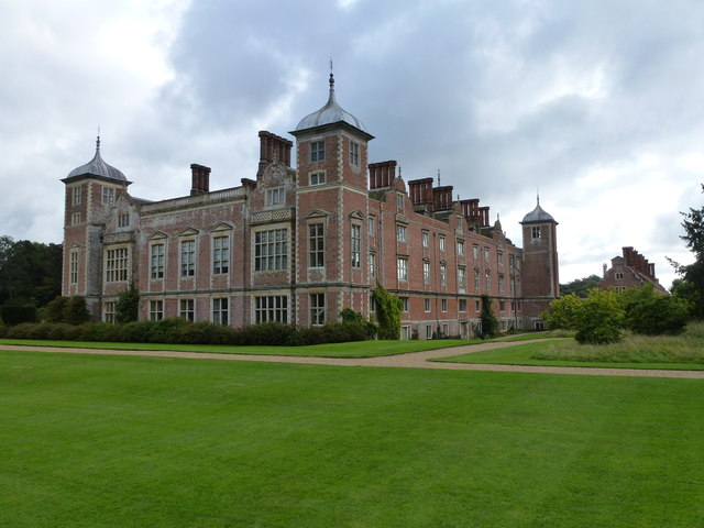 Blickling Hall - The northern corner