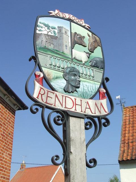 Rendham Village Sign
