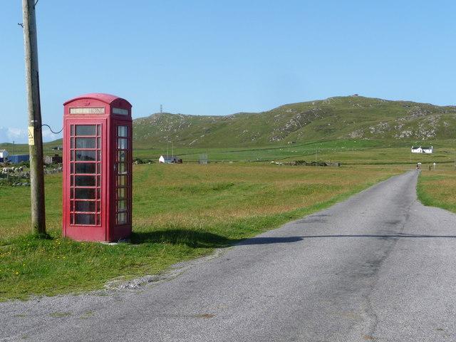 Balevullin: the telephone box