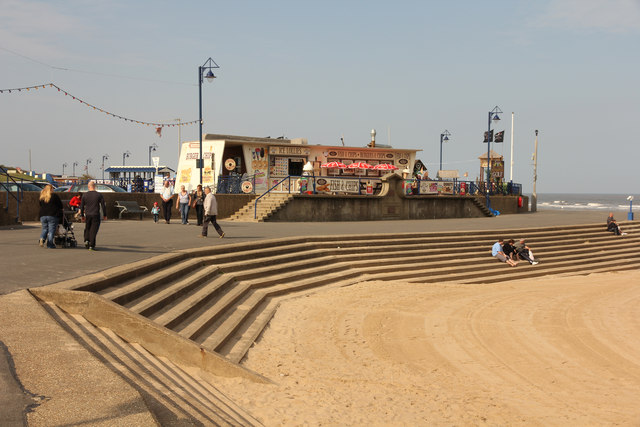 Mablethorpe seafront
