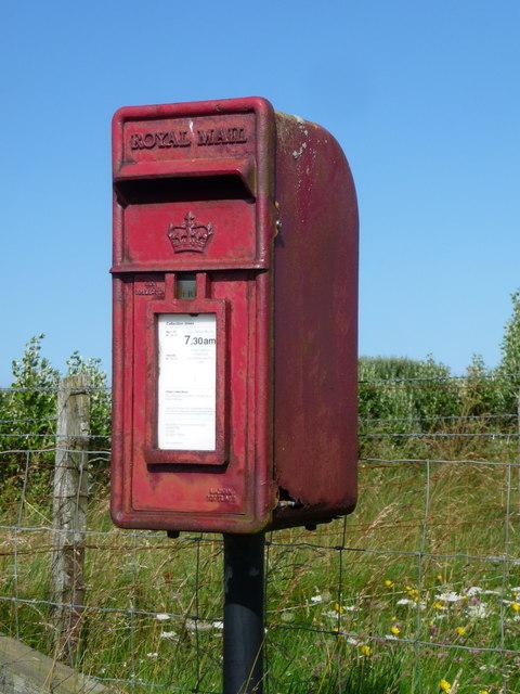 Balevullin: postbox № PA77 1