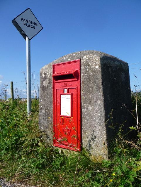 Cornaig: postbox № PA77 133