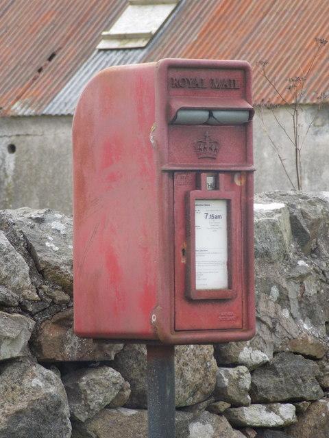 Cornaigbeg: postbox № PA77 153