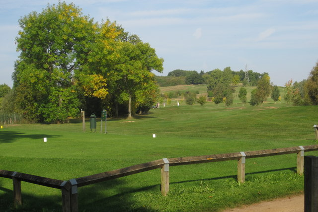 Golf Course by Putnoe Wood