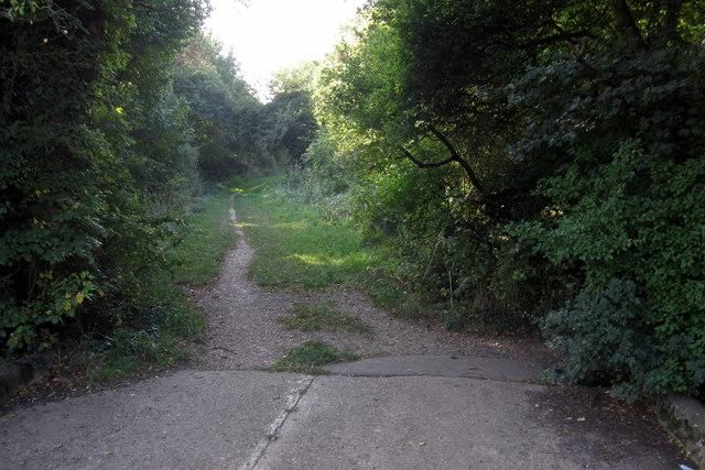 Bridleway towards Bedford