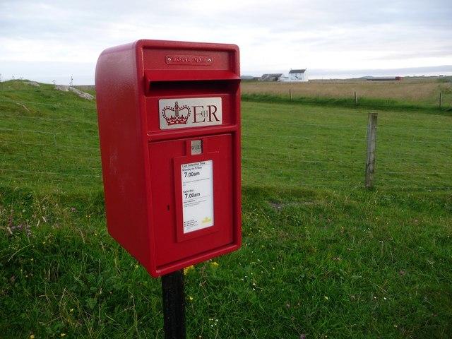 Balephetrish: postbox № PA77 140