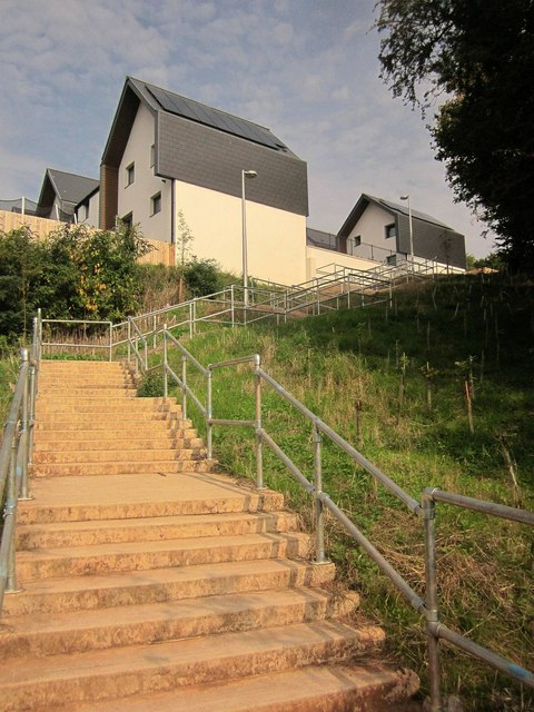 Steps to Orchid Way