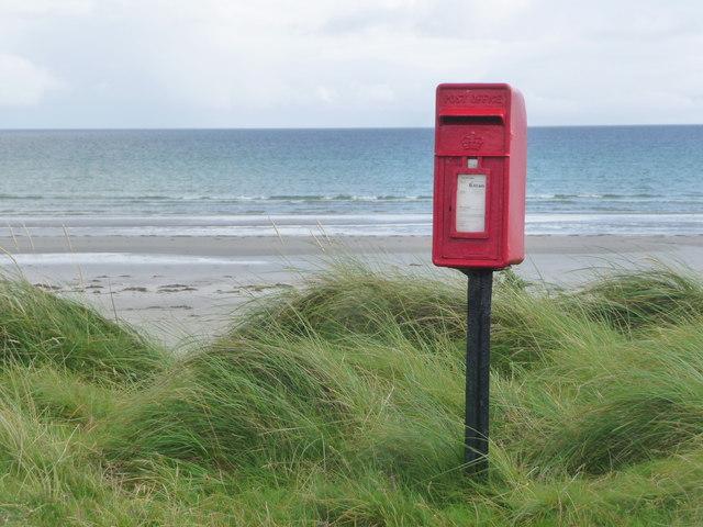 Kirkapol: postbox № PA77 138