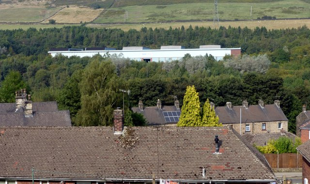 Rooftops and steelworks