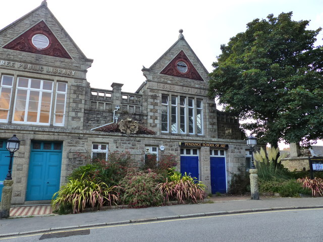 Penzance School of Art and Public Library