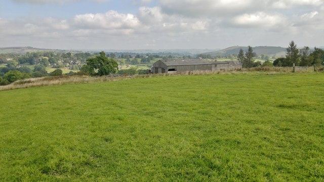 Farm on Grindon Moor above Butterton