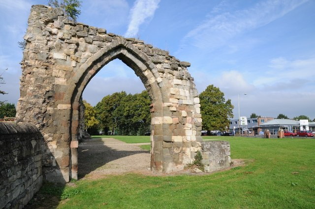 Remains of St Oswald's Priory