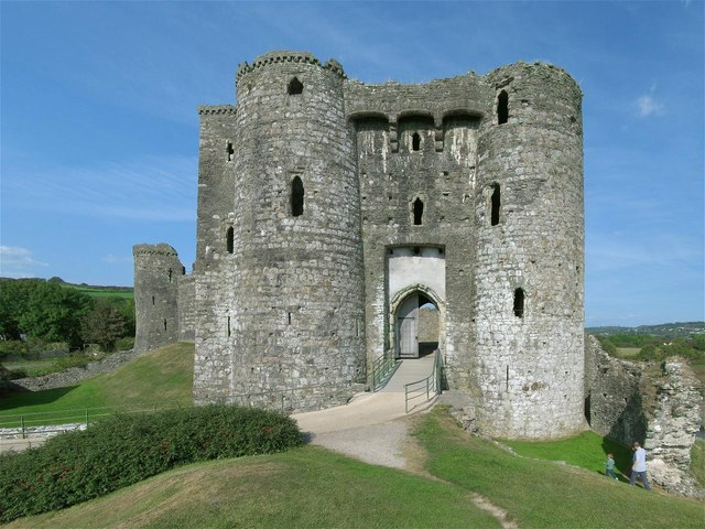 South Gatehouse of Kidwelly Castle