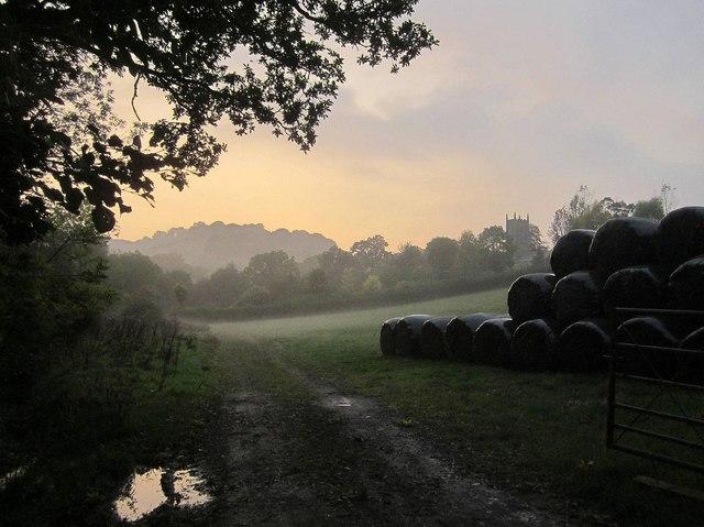 Sunset, Doddiscombsleigh