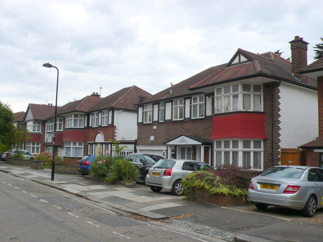 Houses in Audley Rd