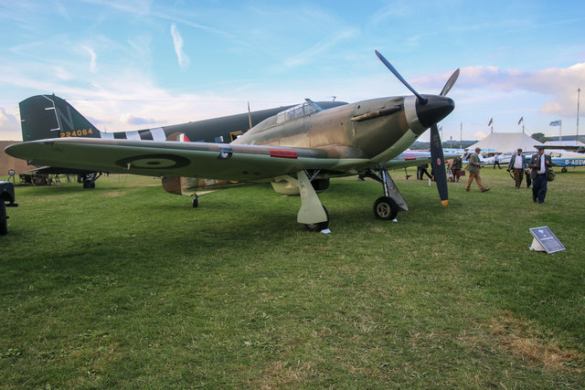 Goodwood Revival 2014 - Hawker Hurricane