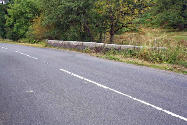 A683 at bridge over Sally Beck