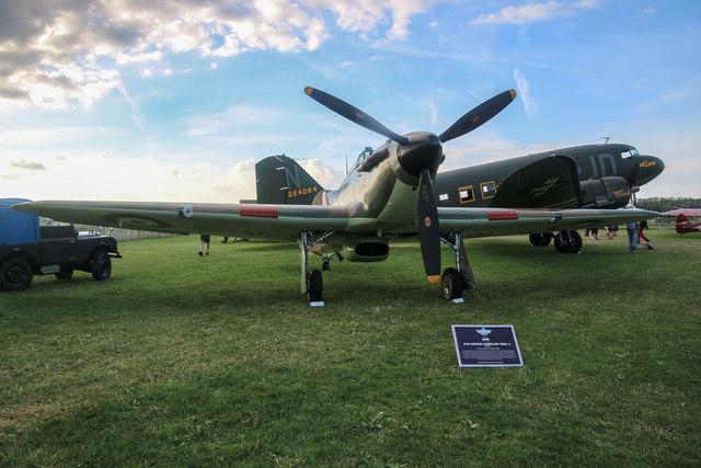 Goodwood Revival 2014 - Hawker Hurricane