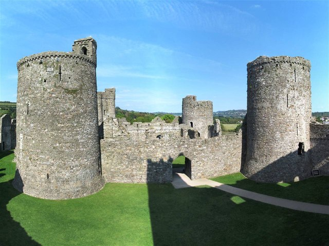 The Inner Ward of Kidwelly Castle