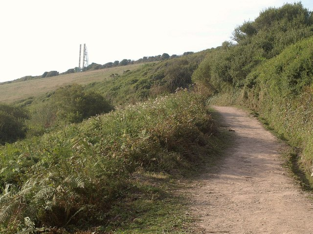 Coast path above Aesop's Bed