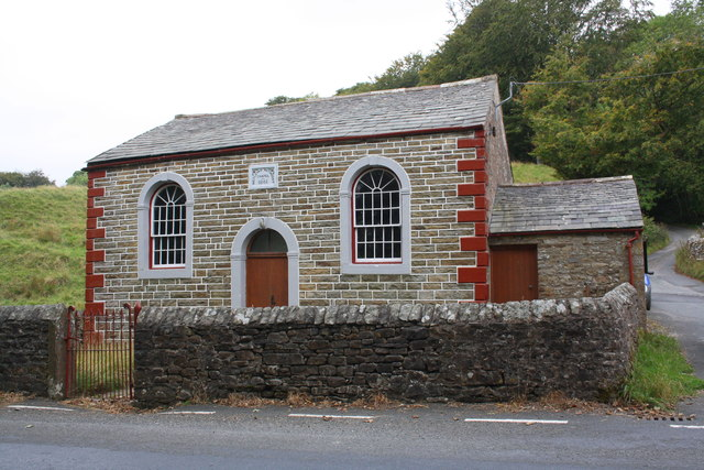 Wesleyan Methodist Chapel beside A683