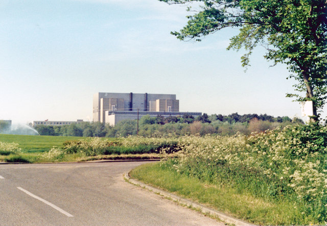 Sizewell A (Magnox) Nuclear Power Station, 1985