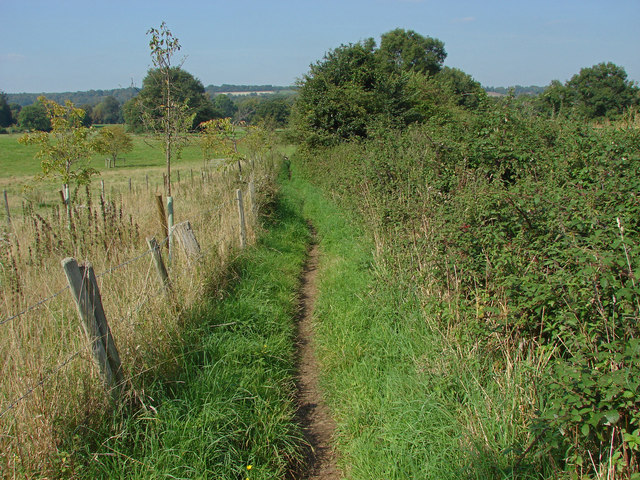 Footpath to Compton Common