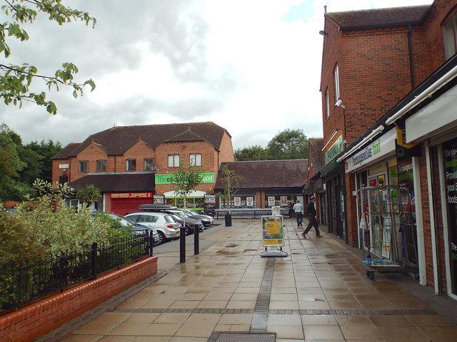 Local shops, Farmhouse Way, off Shelly Crescent, Monkspath