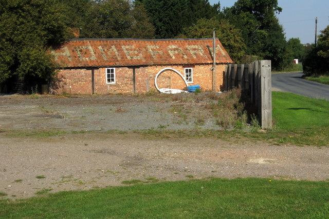 Timber yard at Home Farm