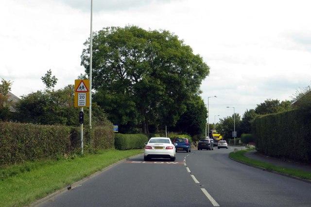 Mill Lane through Stalmine