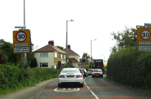 Carr Lane in Hambleton