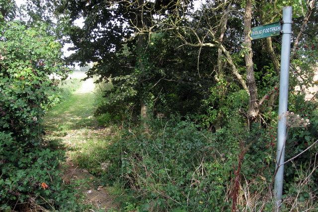 Footpath to Ravensden